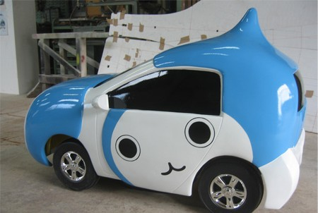 자동차 캐릭터모형