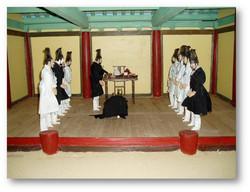 조선시대인물모형