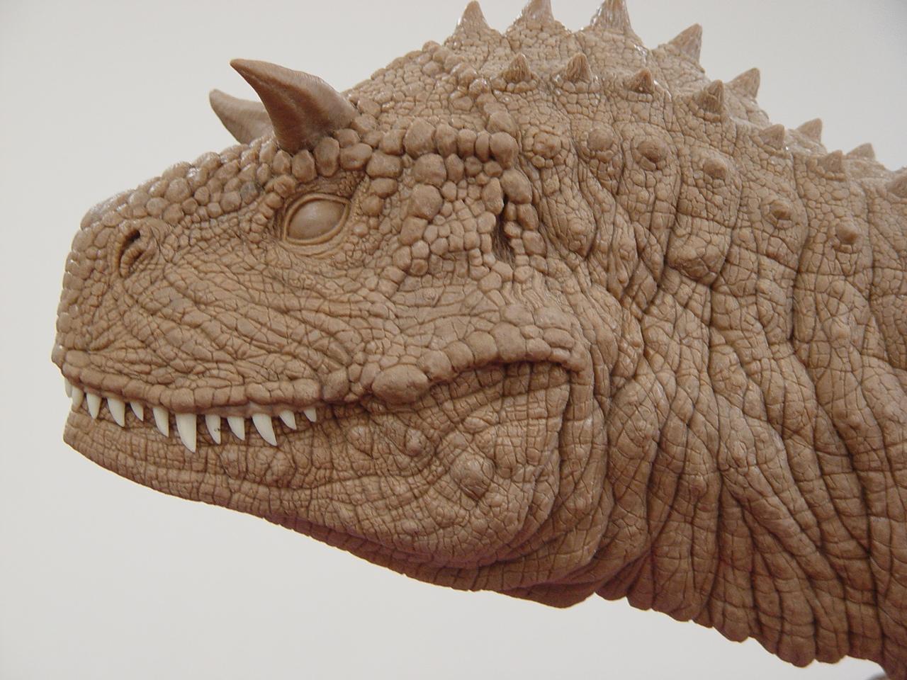 공룡조각 디테일