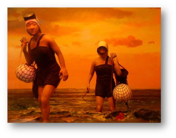 해녀인물모형 해녀모형