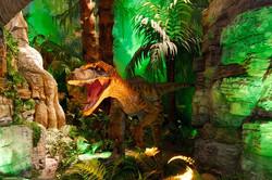 공룡 FRP지형, 공룡제작