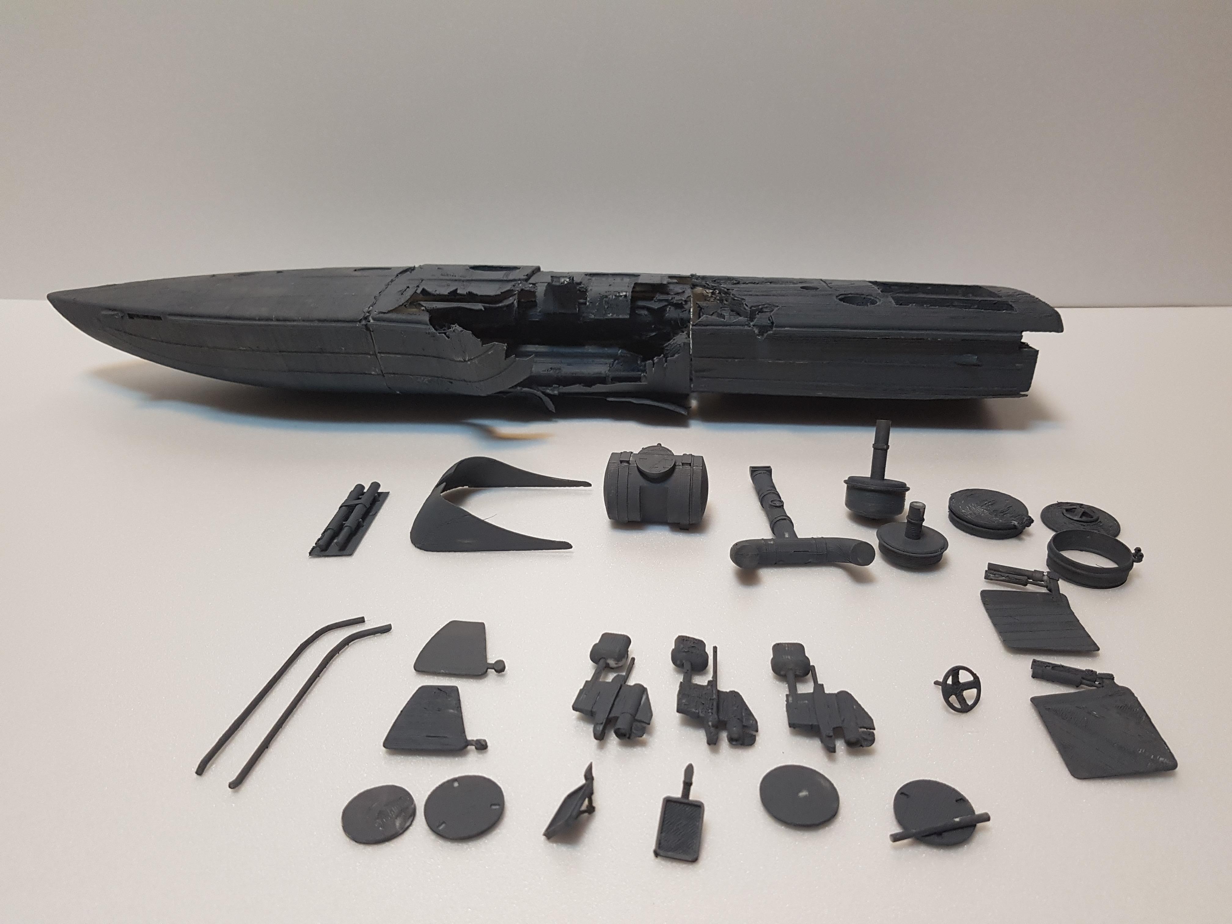 북한잠수정모형 (3)
