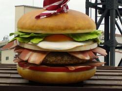 햄버거모형
