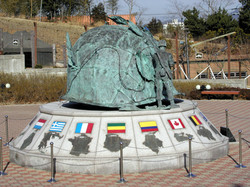 전쟁상징 조형물