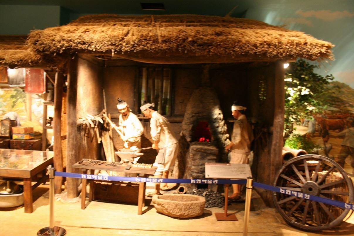 조선시대인물모형 옛장터2