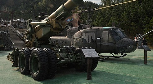 대형 군장비모형