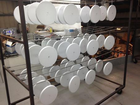 Powder Coated Base Plates
