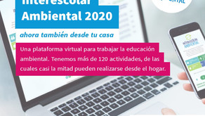 INVITACIÓN AL INTERESCOLAR AMBIENTAL 2020
