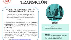 APOYO PRUEBA DE TRANSICIÓN