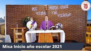 EMOTIVA EUCARISTÍA DA INICIO AL AÑO ESCOLAR 2021