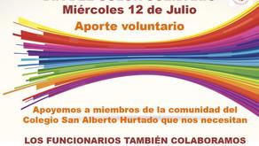 MIÉRCOLES 12 DE JULIO DÍA DEL COLOR SOLIDARIO