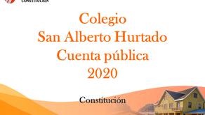 CUENTA PUBLICA AÑO 2020