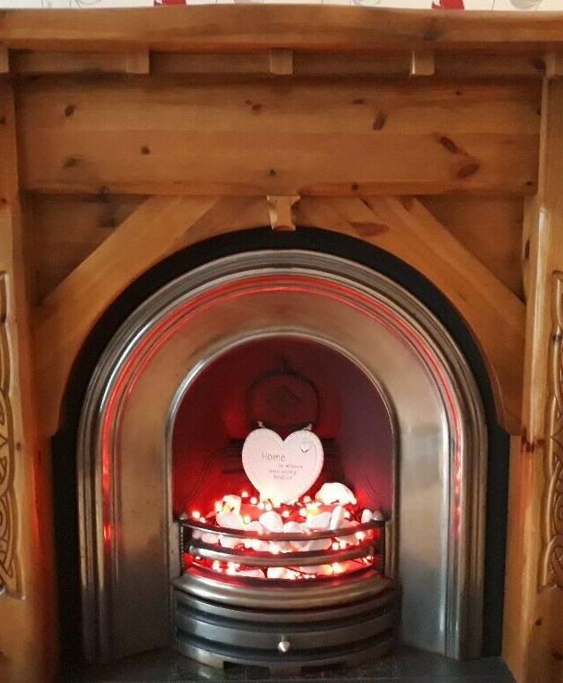 CNC Celtic Fireplace