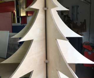 Birch Plywood Christmas Trees