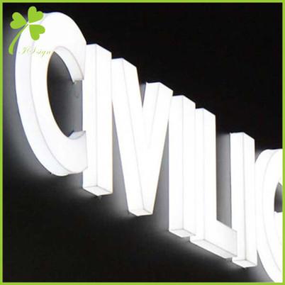 built up channel letters