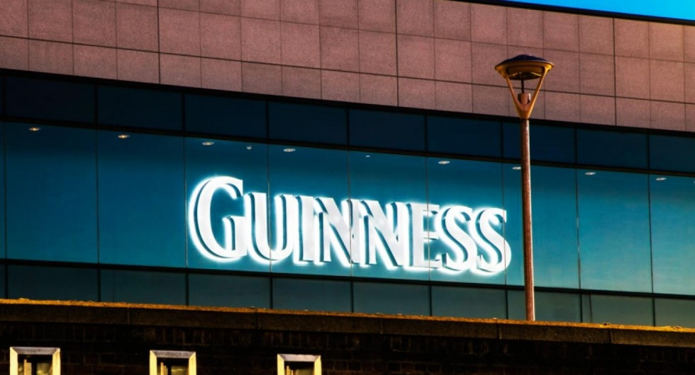guinness channel letters
