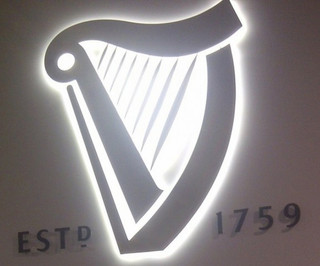 GUINNESS BREWERY BUILT UP LETTERS