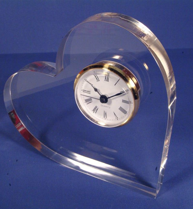 Acrylic clocks
