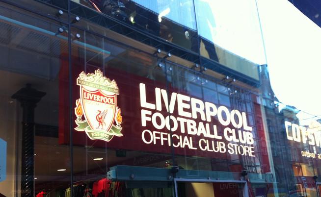 liverpool shop sign