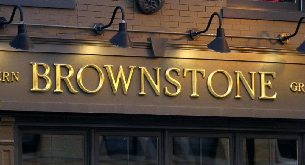 brownstone cnc letters