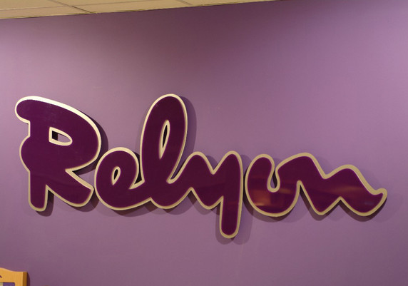 twin layer wall sign