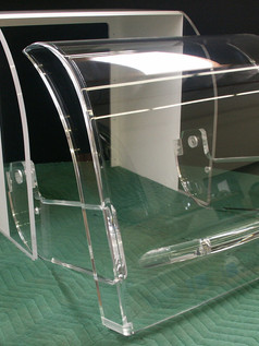 acylic formed hinged polished