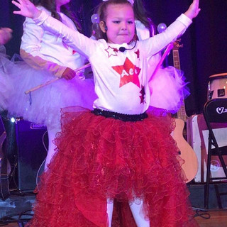 Our little stars on the stage of CZampli