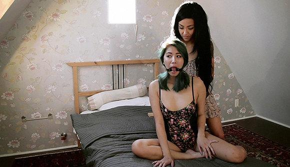 Spanking Lesbian Fetish Video