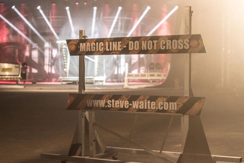 Magier Steve Waite