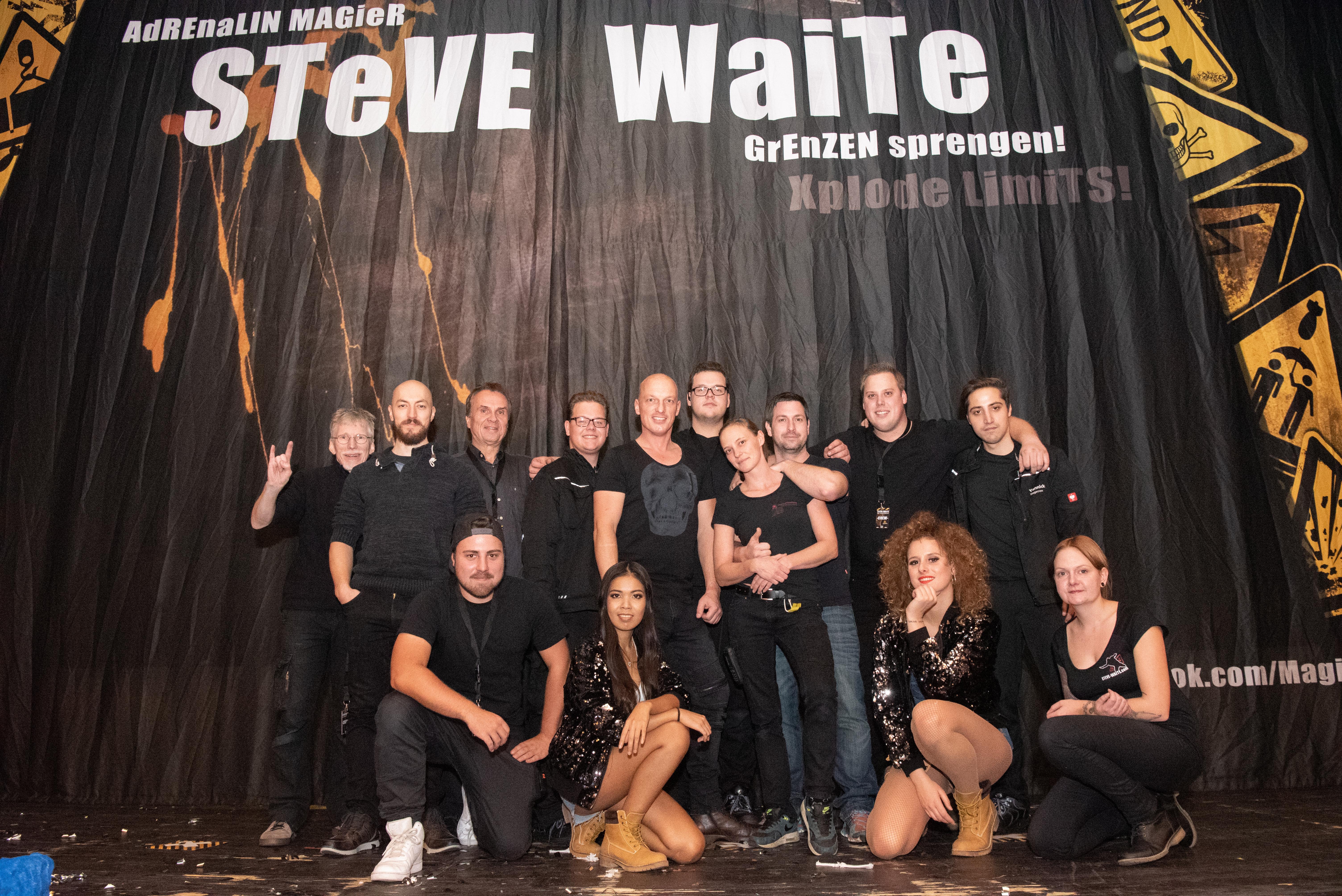 Steve Waite Magier