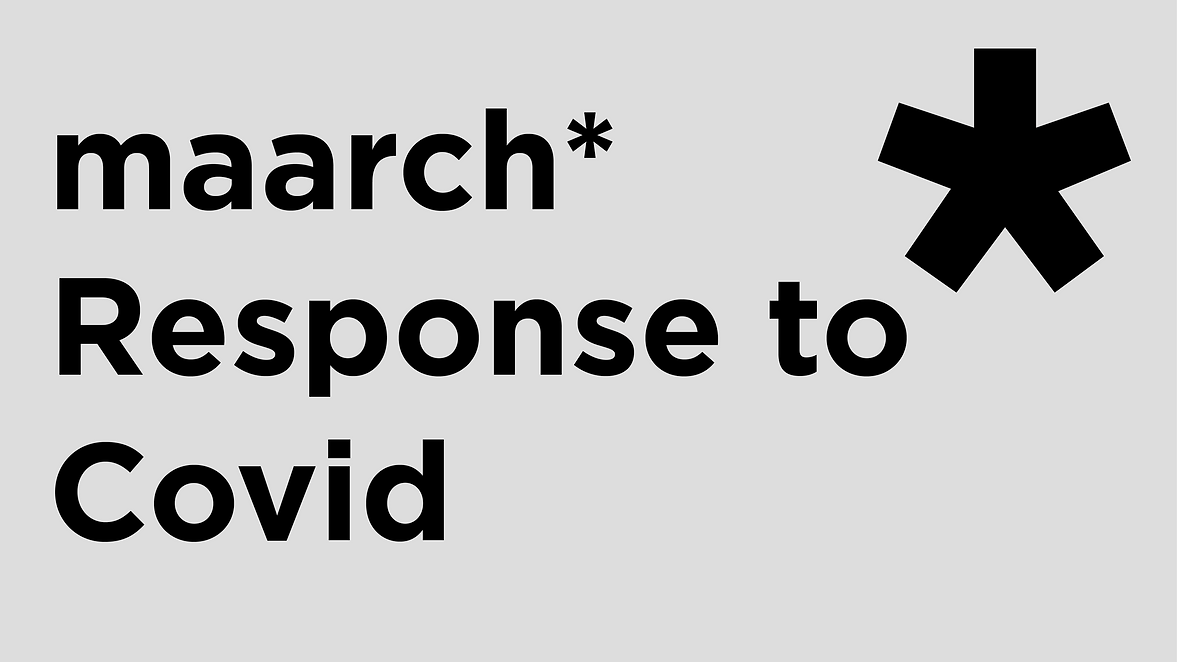 Maarch response to Covid
