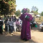 Bishop John with Ordinands