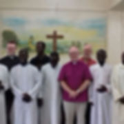 Bishop John with Ordinands