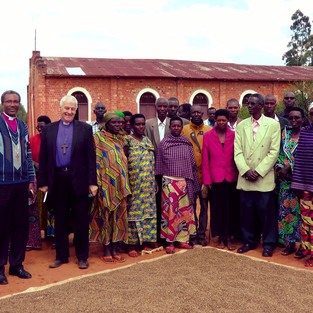 Archbishop of Dublin inspired by unity at Burundi maize project