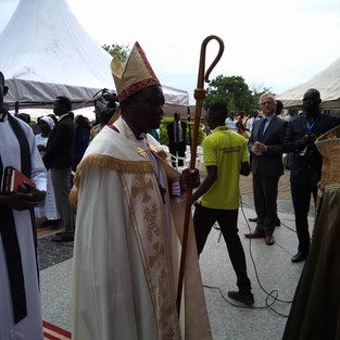 CMSI Partner installed as Archbishop of South Sudan