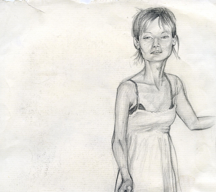 pencil on paper 2008