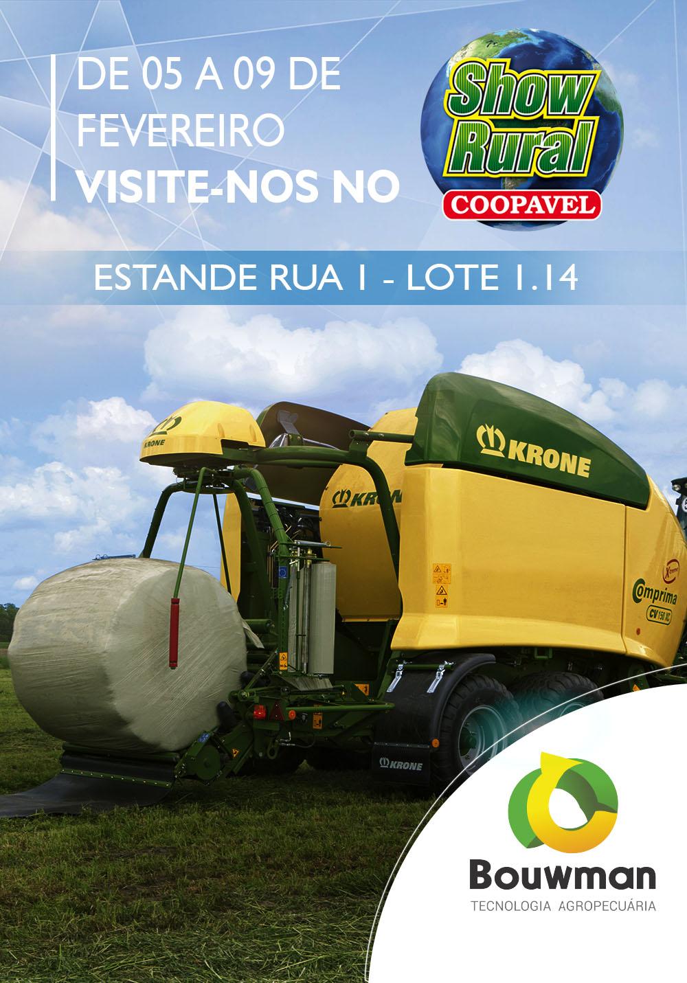 Convite evento Show Rural Coopavel