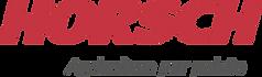 Logo Horsch Vermelha com Tagline.png