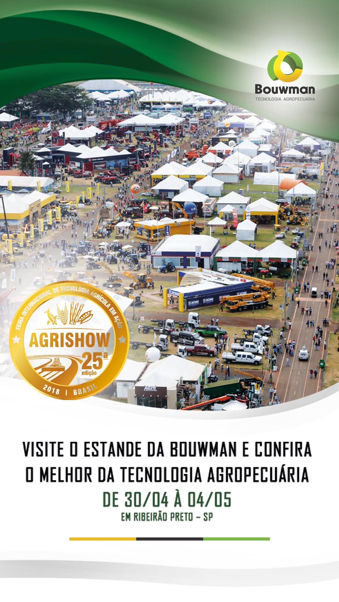 Convite Evento Agrishow 2018