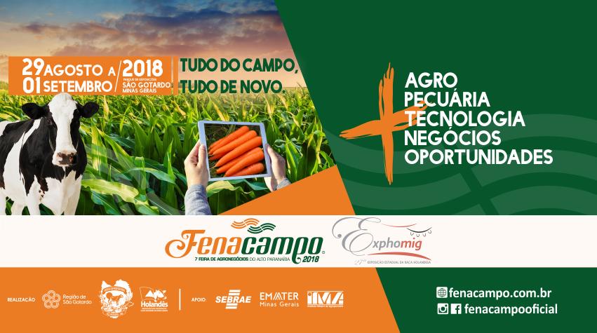 Convite evento Fenacampo 2018