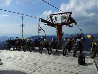 Enduro tour in Georgia