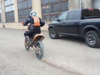 Enduro tours in Georgia Tbilisi, Caucasus enduro tours, snow ride on KTM