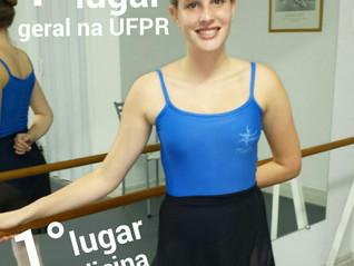 Destaque na universidade mais concorrida de Curitiba estuda no Petit  Ballet!