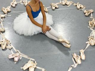 Aula de Ballet em homenagem ao dia das mães