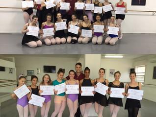 Primeiro Curso de Férias do Petit Ballet