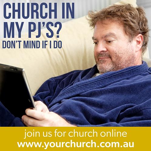 Church In My PJs?