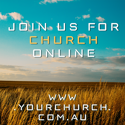 Join Us For Church Online