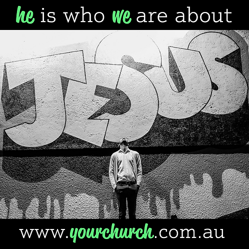 He Is Who We Are About