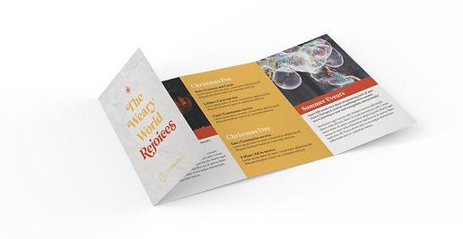 8 Panel Christmas Brochure