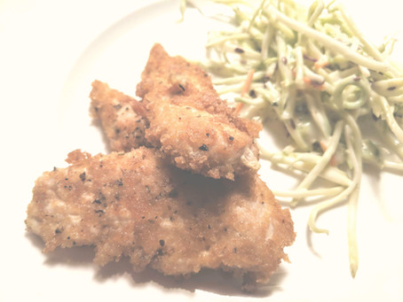 Crispy Keto-Chicken Tenders